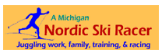 Michigan Nordic Ski Racer